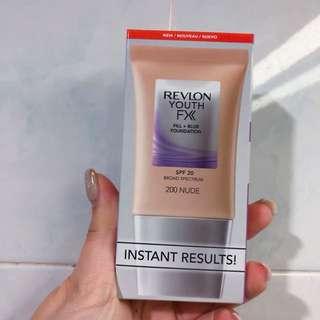 REVLON Youth FX™ 逆齡柔膚袪皺粉底霜