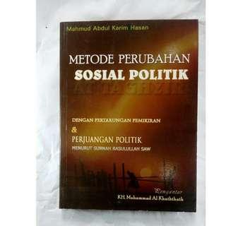 buku bekas metode perubahan sosial politik