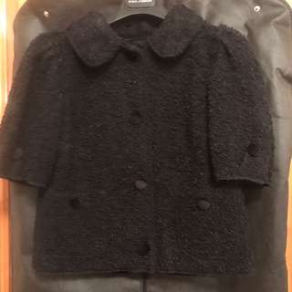 Dolce and gabbana jacket 100%real 90%new 不議價 size36