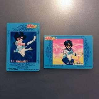 93年日版 水野亞美 武內直子 美少女戰士 Sailor Moon R 一套2張不拆