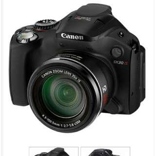 Saya ingin menjual camera canon SX30 IS