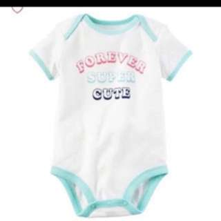 *6M* BN Carter's Collectible Bodysuit For Baby Girl