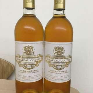 2001 Chateau Coutet, Sauternes Barsac, France 甜酒