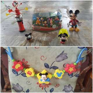 Mickey mouse toy lot
