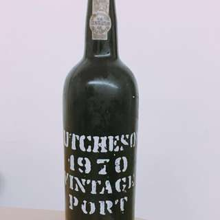 1970 Hutcheson Vintage Port, fortified wine