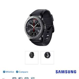 Samsung Gear s3 Frontier (smart Watch )
