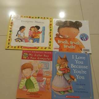 Scholastic Children Story Books 4 titles