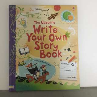 Usborne - write your own story book