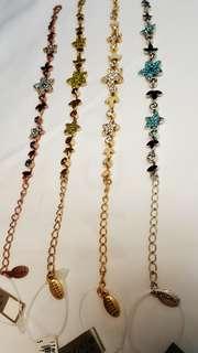 北欧INS风小众品牌 朝圣者pilgrim.Authentic Danish design jewellery bracelet, imported from Denmark丹麦手链