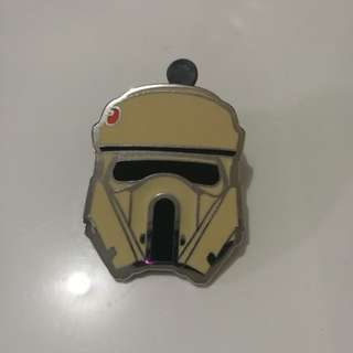Star wars disney pin trading pin * vintage