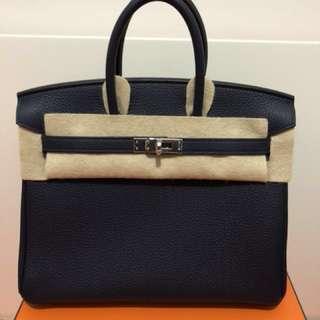 Hermes Birkin 25 100%new