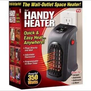 美國代購handy heater便携式插座暖風機