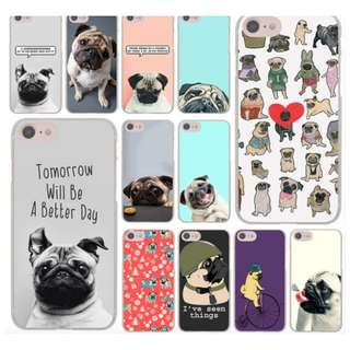 [FREE DELIVERY] (Samsung) Pug phone cases