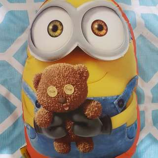 Double sided Minion Pillow