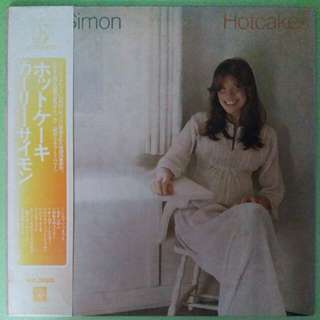 "【舊版""Rock, Pop""黑膠唱片】Carly Simon ‎~ Hotcakes (1974 Japan)"