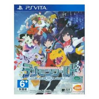 Ps Vita Digimon Next Order (Full Japan)