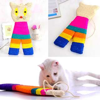 Hanging Scratch Pad For Cats