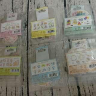 三件25元 韓國 紙質貼紙 日本 生活 雜貨 手帳
