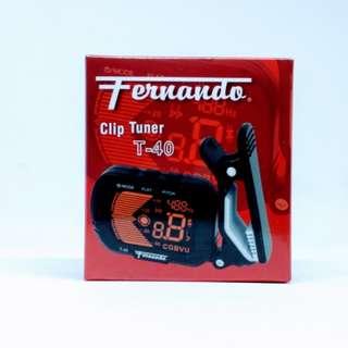 Fernando Clip On Tuner