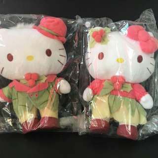 Hello Kitty & Dear Daniel Plush Toy Set