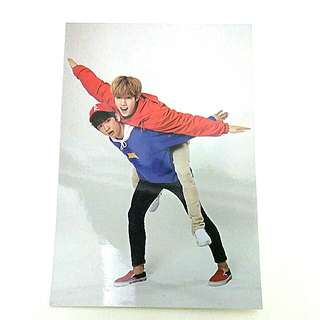 Got7 Jinyoung and mark Fly postcard
