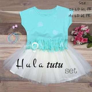 Hula Tutu Set - Green