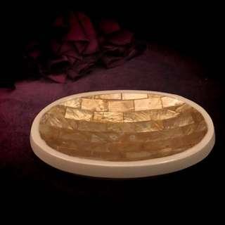 🚚 貝殼肥皂盒/橢圓形/富貴金❤️