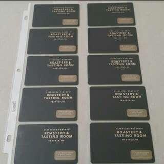 Starbucks roastery seattle cards
