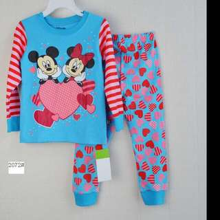 Minnie Mouse pyjamas For Age 1-7 yrs Old