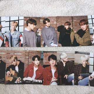 {READYSTOCK} BTS X MEDIHEAL OFFICIAL POSTCARDS