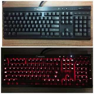 Corsair k70 機械鍵盤