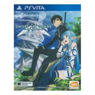 Ps Vita Sword Art Online: Lost Song (R3) Vita Jap Voice/Eng Sub