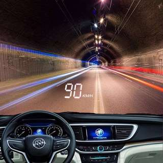 Car HUD Head-up Display Car Universal Computer OBD Driving Computer Heads-up Speed ​​Smart HD Projection