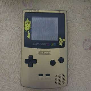 Antique Gameboy advance and colour