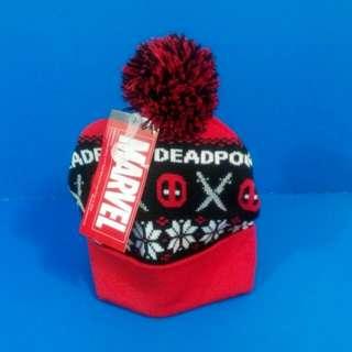 Bioworld Marvel Deadpool Beanie Headwear 男/女装 死侍 毛冷帽