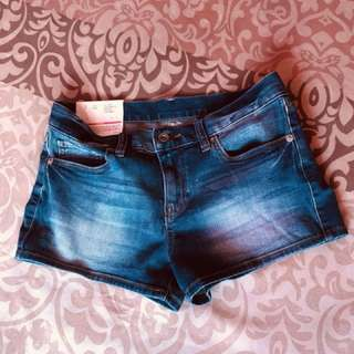 Denim Micro Shorts