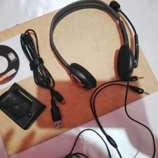 Headset and Webcam