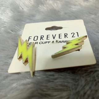 Forever 21 Ear cuff & Earring