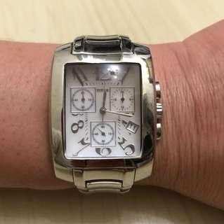 90%new Titus 天長地久系列電子計時腕錶