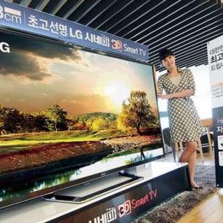 "84"" 4k 3D smart tv. Tip top condition!"