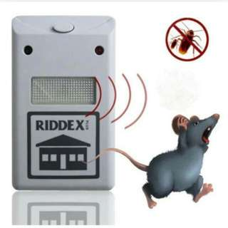 Pest repellent aid with night lamp