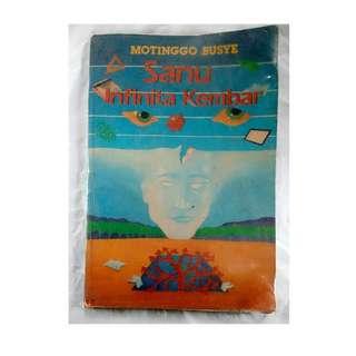 buku bekas motinggo busye sanu infinita kembar motingo