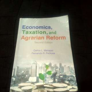 ETAR - Economics, Taxationband Agrarian Reform