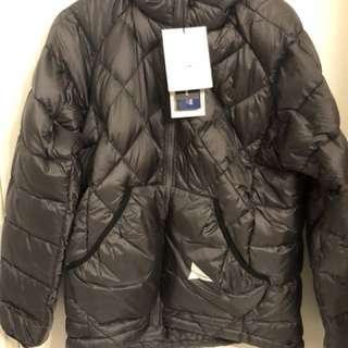 全新And Wander goose down jacket(made in Japan)