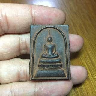 Phra Somdej black wood by ajahn sak ( lp hong grandson )