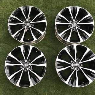 Altis original 17 rims 5x100