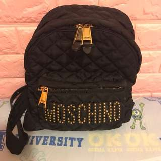 Moschino backpack small size