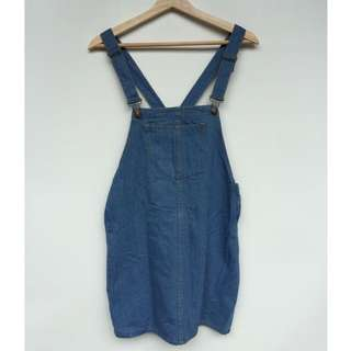 NEW women's pinafore, dress denim, pinafore wanita, freesize