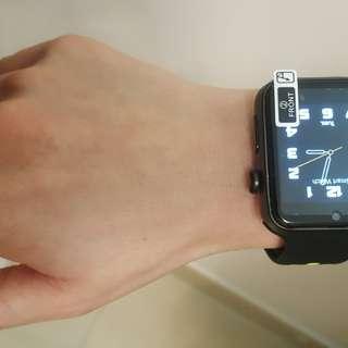 🕘DM09 PLUS可插卡心率運動魔音智能手錶📳