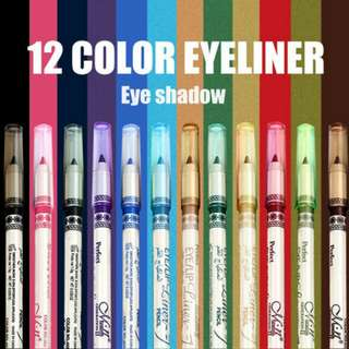 Menow 12 Colours Eye/Lipsliner